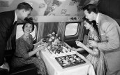 flight-attending-serving-food-OLDMEALS0617