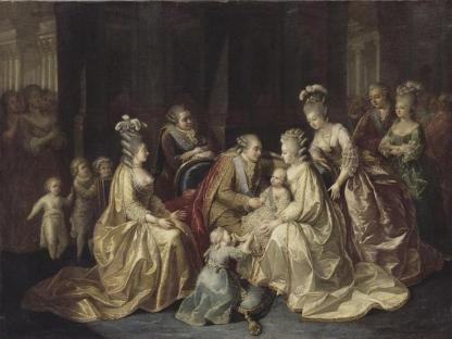 the_royal_family_of_france_in_1781_by_an_anonymous_artist