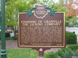 founding_of_granville_marker