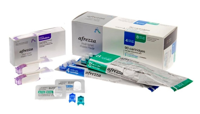 Afrezza package