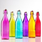bormioli-rocco-colored-glass-bottles
