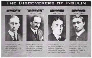 Discoverers-of-Insulin