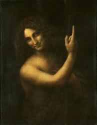 800px-Leonardo_da_Vinci_-_Saint_John_the_Baptist_C2RMF_retouched